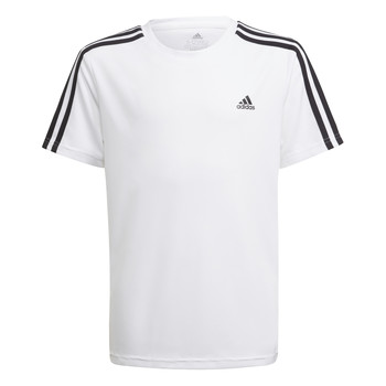 textil Pojkar T-shirts adidas Performance AYMERICA Vit