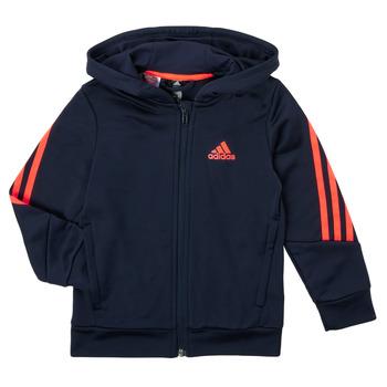 textil Pojkar Sweatshirts adidas Performance HOODIZ Marin
