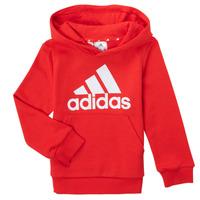 textil Pojkar Sweatshirts adidas Performance GENIZA Röd