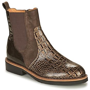 Skor Dam Boots Mam'Zelle JUDE Brun