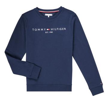 textil Pojkar Sweatshirts Tommy Hilfiger TERRIS Marin