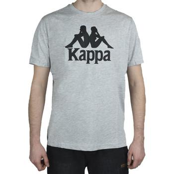 textil Herr T-shirts Kappa Caspar T-Shirt Grise