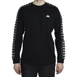 textil Herr Långärmade T-shirts Kappa Haimo Longsleeve Noir