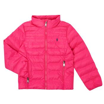 textil Flickor Täckjackor Polo Ralph Lauren DERNIN Rosa