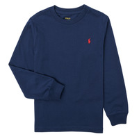 textil Pojkar Långärmade T-shirts Polo Ralph Lauren KEMILO Marin