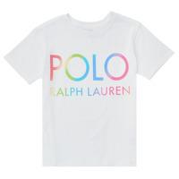 textil Flickor T-shirts Polo Ralph Lauren FERILO Vit