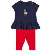 textil Pojkar Set Polo Ralph Lauren BETINA Flerfärgad