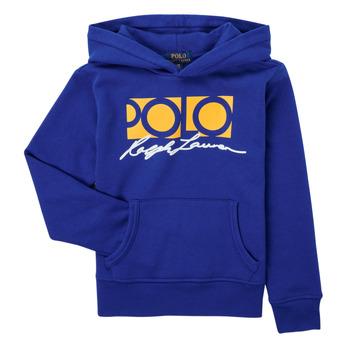 textil Pojkar Sweatshirts Polo Ralph Lauren SILENA Marin