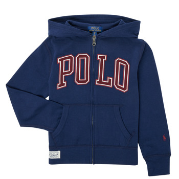 textil Pojkar Sweatshirts Polo Ralph Lauren FERINA Marin