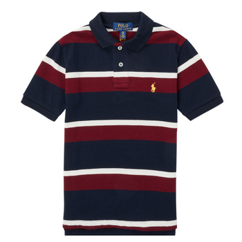 textil Pojkar Kortärmade pikétröjor Polo Ralph Lauren POLLONO Flerfärgad