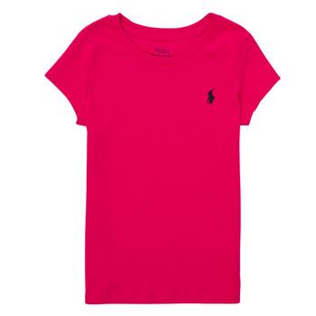 textil Pojkar T-shirts Polo Ralph Lauren ASKIRA Rosa