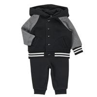 textil Pojkar Set Polo Ralph Lauren DENILO Svart / Grå