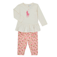 textil Flickor Set Polo Ralph Lauren FRENNO Flerfärgad