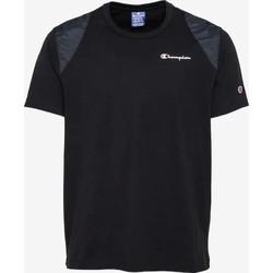 textil Herr T-shirts Champion CAMISETA HOMBRE  KK001 Svart