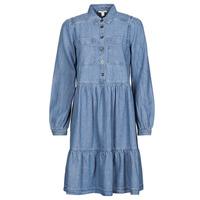 textil Dam Korta klänningar Esprit COO DRESS Blå