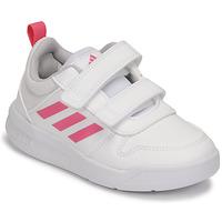 Skor Flickor Sneakers adidas Performance TENSAUR C Vit / Rosa