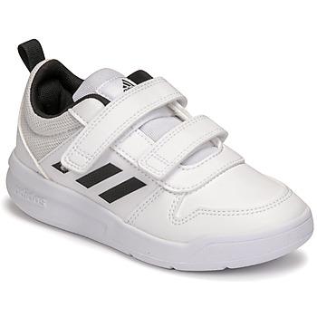 Skor Barn Sneakers adidas Performance TENSAUR C Vit / Svart