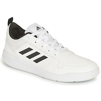 Skor Barn Sneakers adidas Performance TENSAUR K Vit / Svart