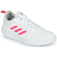 Skor Flickor Sneakers adidas Performance TENSAUR K Vit / Rosa