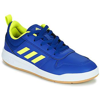 Skor Barn Sneakers adidas Performance TENSAUR K Blå / Neon