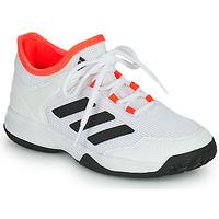Skor Barn Tennisskor adidas Performance Ubersonic 4 k Vit / Röd