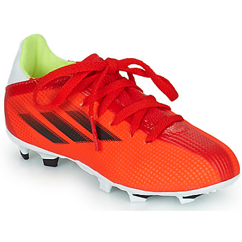 Skor Barn Fotbollsskor adidas Performance X SPEEDFLOW.3 FG J Röd