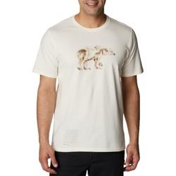 textil Herr T-shirts Columbia Clarkwall Organic Cotton Tee Blanc