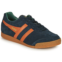 Skor Herr Sneakers Gola HARRIER Marin / Orange