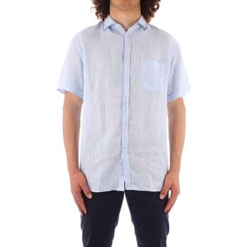 textil Herr Kortärmade skjortor Trussardi 52C00213 1T002248 BLUE
