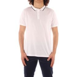textil Herr Kortärmade pikétröjor Trussardi 52T00501 1T003602 WHITE