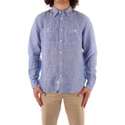 textil Herr Långärmade skjortor Blauer 21SBLUS01221 BLUE