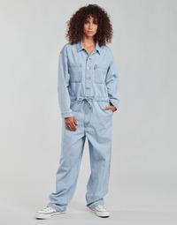 textil Dam Uniform Levi's ROOMY JUMPSUIT Blå