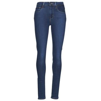 textil Dam Skinny Jeans Levi's 721 HIGH RISE SKINNY Blå