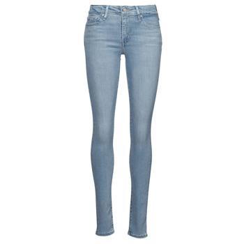 textil Dam Skinny Jeans Levi's 712 SKINNY Blå