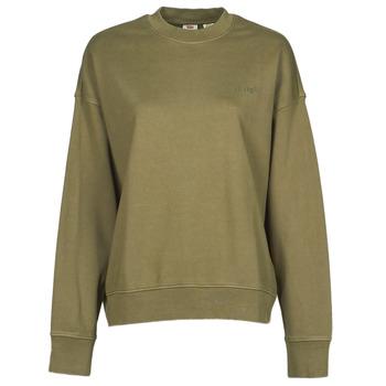 textil Dam Sweatshirts Levi's WFH SWEATSHIRT Kaki