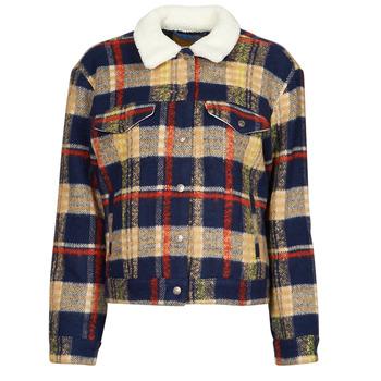 textil Dam Jeansjackor Levi's WOOL TRUCKER Flerfärgad