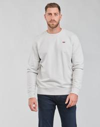 textil Herr Sweatshirts Levi's NEW ORIGINAL CREW Grå