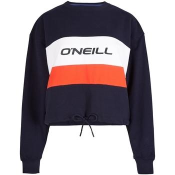 textil Dam Sweatjackets O'neill LW Athleisure Crew Blå