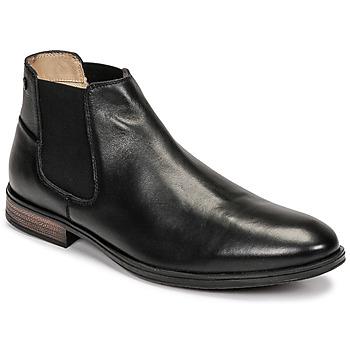Skor Herr Boots Jack & Jones JFW FRANK LEATHER Svart
