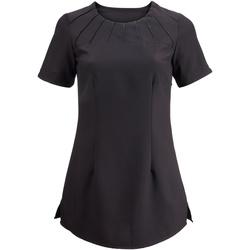 textil Dam T-shirts Alexandra  Svart
