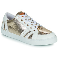 Skor Dam Sneakers Les Tropéziennes par M Belarbi SUZIE Guldfärgad / Vit
