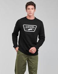 textil Herr Sweatshirts Vans FULL PATCH CREW II Svart