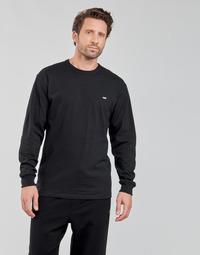 textil Herr Långärmade T-shirts Vans OFF THE WALL CLASSIC LS Svart