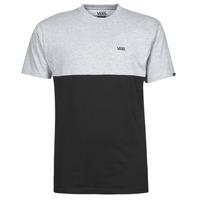 textil Herr T-shirts Vans COLORBLOCK TEE Grå / Svart