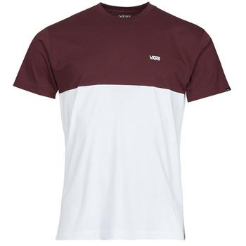 textil Herr T-shirts Vans COLORBLOCK TEE Vit