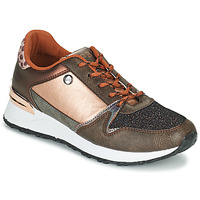 Skor Dam Sneakers Les Petites Bombes CINDY Guldfärgad / Brons