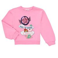 textil Flickor Sweatshirts Billieblush LOUNNA Rosa