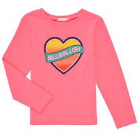 textil Flickor Långärmade T-shirts Billieblush DEKOU Rosa