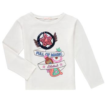textil Flickor Långärmade T-shirts Billieblush FADILA Vit