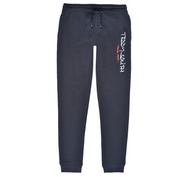 textil Pojkar Joggingbyxor Teddy Smith P-JOG 2 Marin